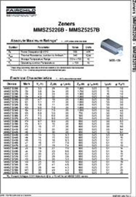 low power zener diode datasheet mmsz5243b datasheet 13v 0 5w zener diode