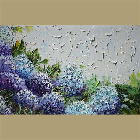 original painting i ll wait 23 x 36 flowers palette