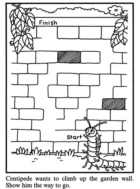 printable insect mazes 17 best images about printable mazes on pinterest free
