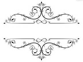 Flower Frame Template by Floral Frame Template Png Psdgraphics