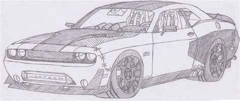 how to draw a dodge challenger drawingforall net 1320 dodge challenger srt8 392 by jmig3 on deviantart