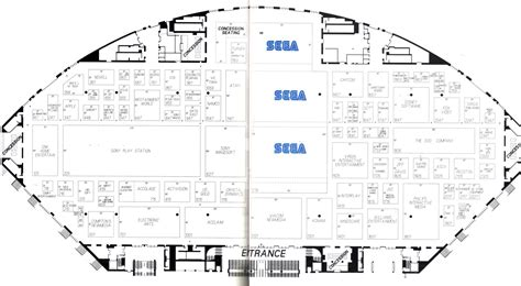 sony centre floor plan e3 1995 concept giant bomb