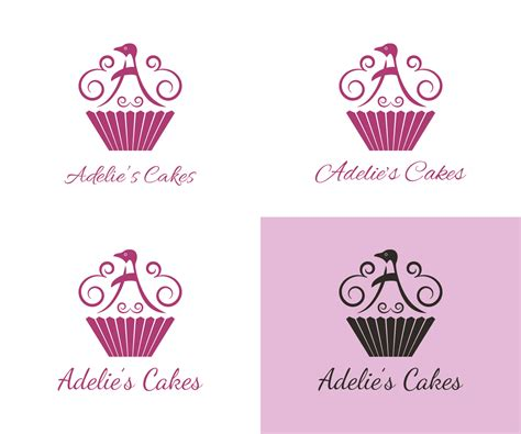 Modern Home Design Names Upmarket Modern Logo Design For Adelie S Cakes By