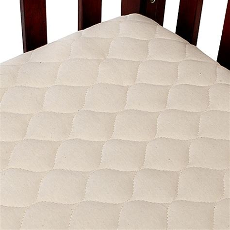Crib Mattress Pad Cover Tl Care 174 Organic Cotton Crib Mattress Pad Cover Www Buybuybaby
