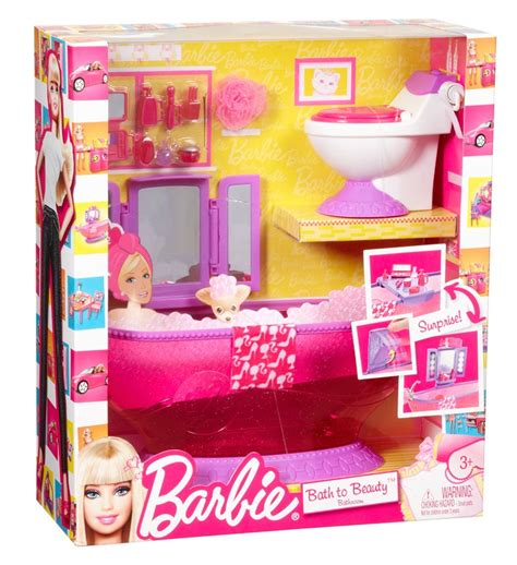 barbie bathroom furniture barbie bath to beauty bathroom furniture set