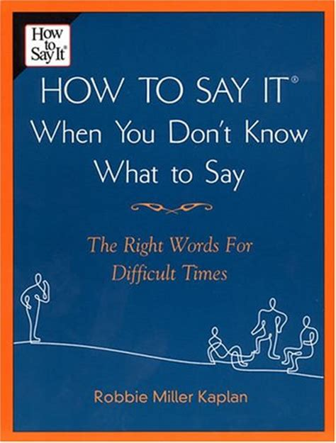 how to say i you books robbie miller kaplan how to say it when you don t