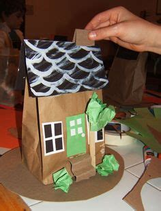 paper bag gingerbread house pattern 1000 images about paper bag puppets on pinterest paper