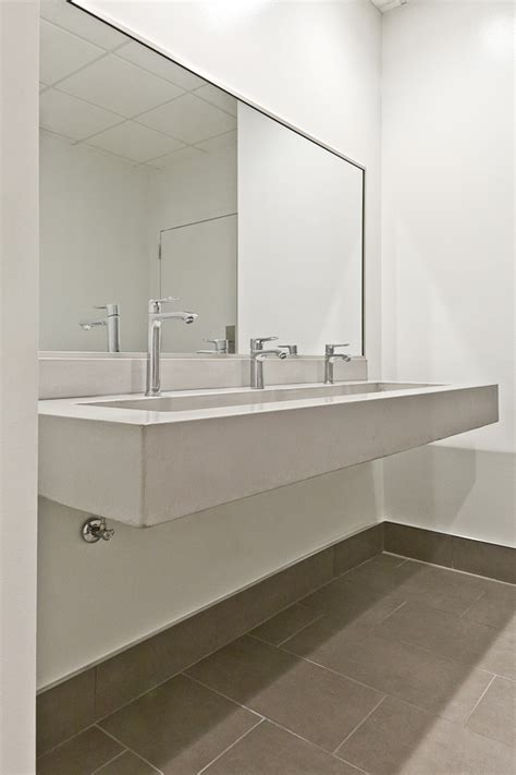 commercial bathroom vanity commercial bathroom sink atlanta concrete countertops