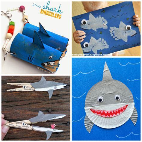 easy shark crafts for image gallery shark crafts
