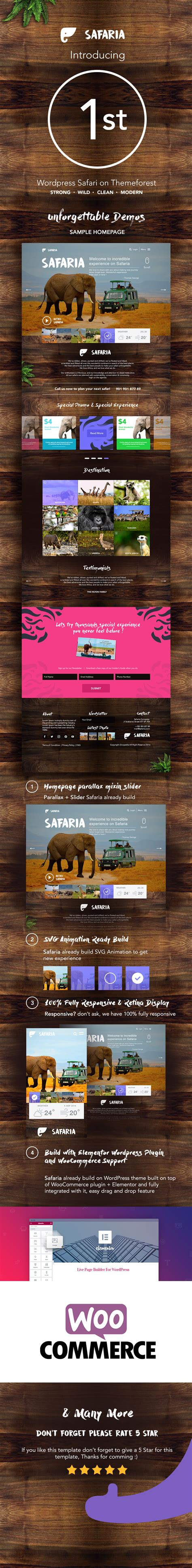 themeforest zoo safaria safari zoo wordpress theme by codeopus