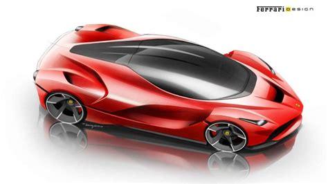 ferrari laferrari sketch video flavio manzoni on the design of laferrari car