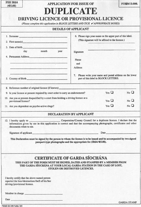 application letter for lost driving licence requirements for drivers license renewal south africa