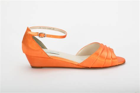 orange shoes for orange wedding shoe wedding shoes orange wedge wedding