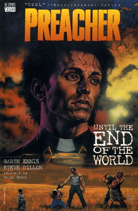 absolute preacher hc vol 1401264417 glenn fabry cover art for preacher trade vol 2 quot until the end of the world quot all time