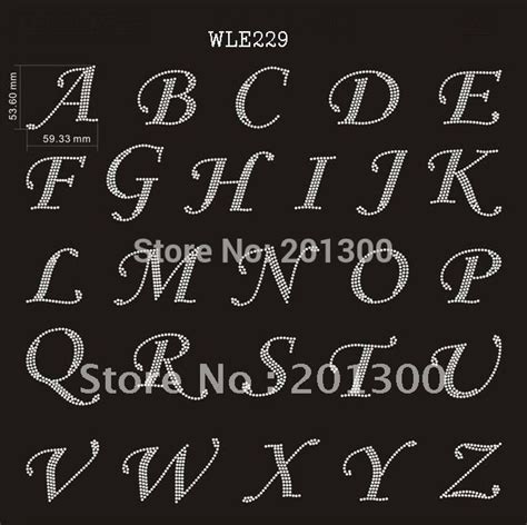 free printable iron on alphabet letters alphabet letters rhinestone iron on transfer 30 sheets lot