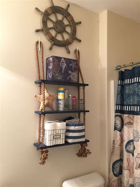 Nautical shelving   Bathrooms   Pinterest   Möbler, Badrum och House