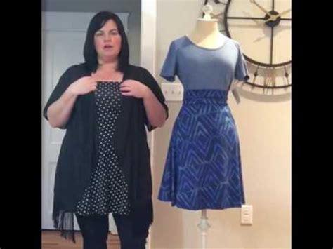 lularoe azure skirt styling tips youtube