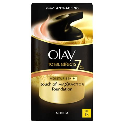 Olay Total Effect Foundation olay total effects moisturiser bb spf15 medium