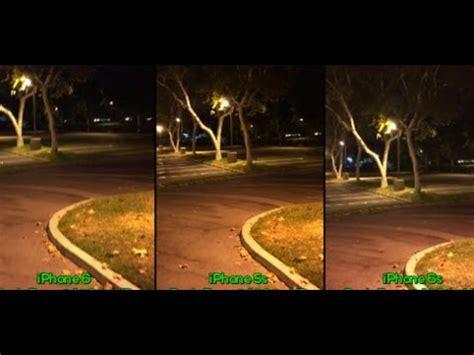iphone 5s vs iphone 6 vs iphone 6s: low light video camera