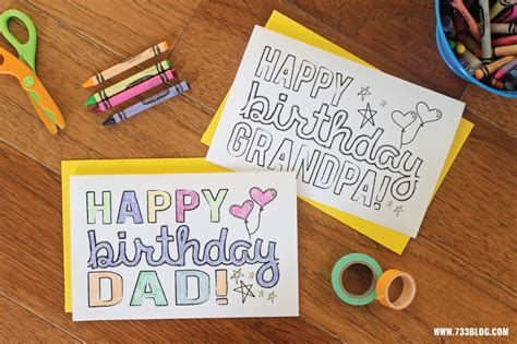 Printable Birthday Cards For