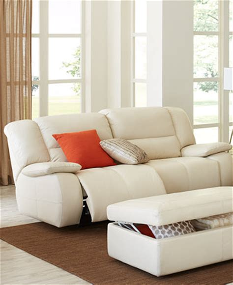 Franco Leather Sofa Living Room Furniture Collection Franco Leather Reclining Sofa