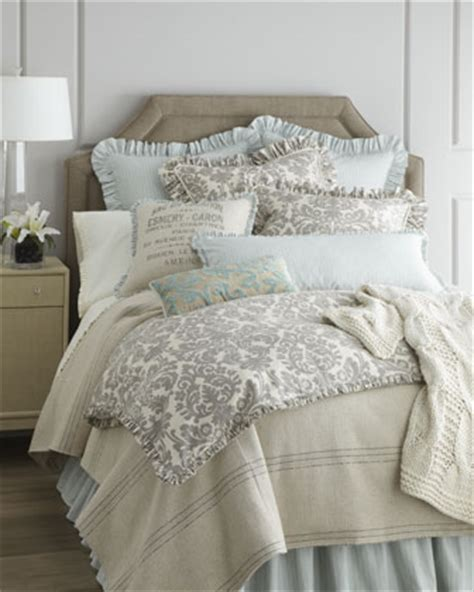 grey damask comforter bedroom bedding french laundry home quot gray damask quot bed