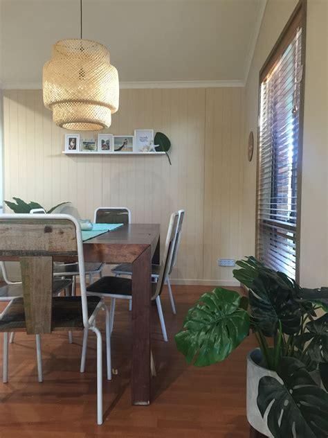 dining room modern tropical beachy vibes modern