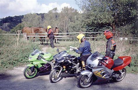 Motorrad Fahrschule Ausr Stung by Motorrad Komplette Ausr 252 Stung Sch 252 Tzt Vor Blessuren