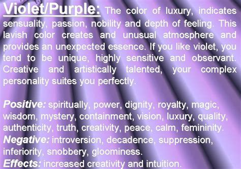 purple meaning purple color psychology