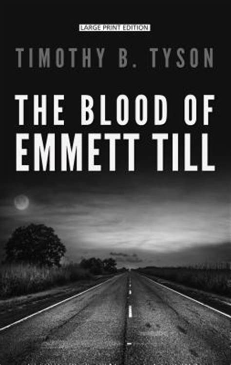 the blood of emmett till books the blood of emmett till large print hardcover