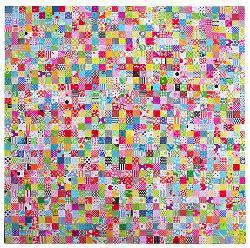 Popular Checkered Quilt Pattern   FaveQuilts.com