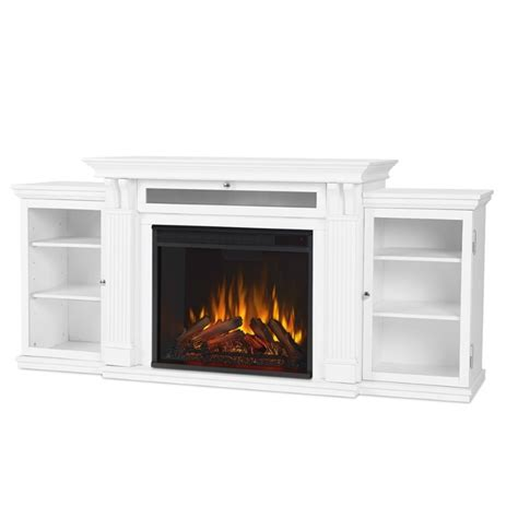 real flame calie electric fireplace entertainment unit