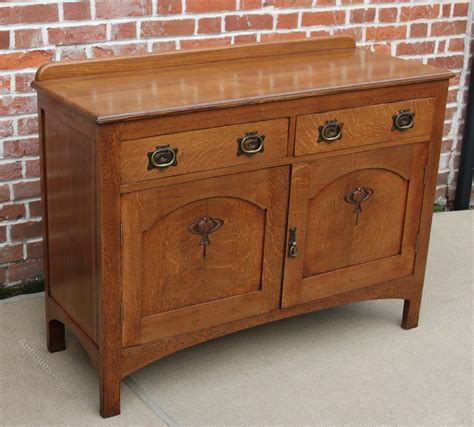 Sideboard Antique by Oak Arts And Crafts Sideboard Antiques Atlas