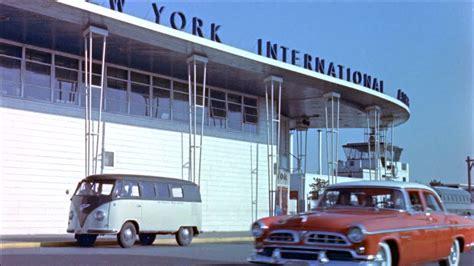 airport möbel airport new york city usa 1955 hd stock
