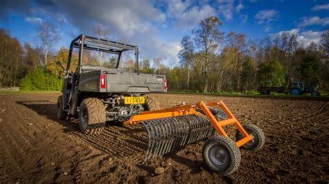 Quadivator Landscape Rake Farming Agri Atv Accessories Iron Baltic