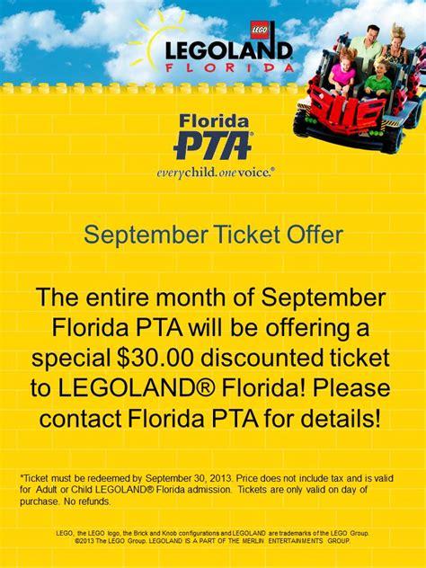 florida pta membership card template important information and flpta days at legoland