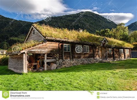 haus norwegen ein altes historisches haus in norwegen stockfoto bild