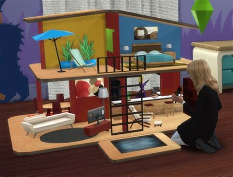 sims 4 dollhouse pqsims4 great toys doll house and mr potato sims 4