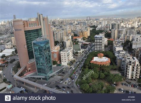Beirut Free Panoramic View Of Beirut Lebanon Stock Photo Royalty Free Image 68317247 Alamy