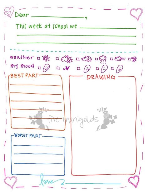 Thank You Letter Template Sparklebox 17 Best Ideas About Letter Writing Template On
