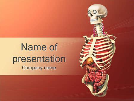Human Anatomy Model Powerpoint Template Backgrounds Id 0000002460 Smiletemplates Com Anatomy Powerpoint Templates