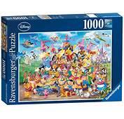 Puzzle Disney Carnaval Multicha Ravensburger 19383 1000