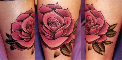 tattoo new school rose tahir yildirim certified artist