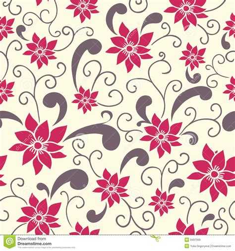 seamless pattern summer summer floral pattern royalty free stock images image