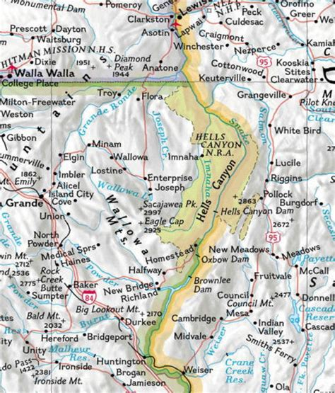hells oregon map map of hells and surrounding area go northwest a