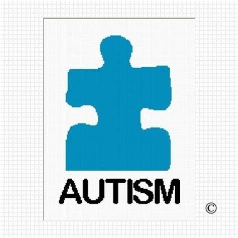 autism puzzle template blue puzzle clipart best