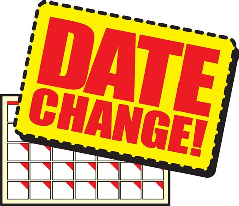 new year date changes new date clipart 20