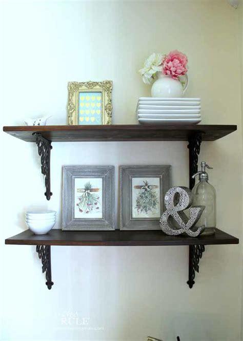 dining room diy wall shelves artsy rule 174