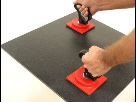Suction Tile Lifter   Best Floor Tile Suction Cups   YouTube