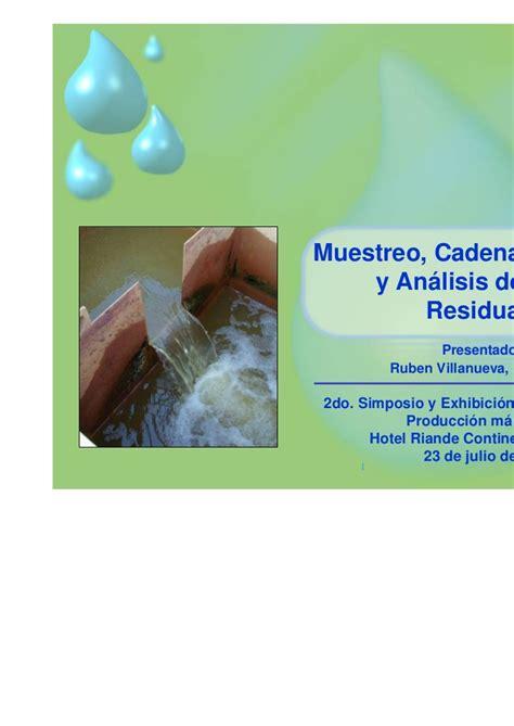 Mainan Loz 9104 muestro de calidad de aguas superficiales